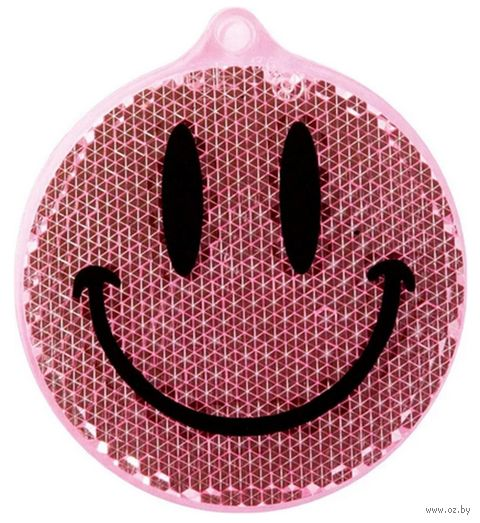 """Фликер """"Смайлик"""" (розовый) — фото, картинка"""