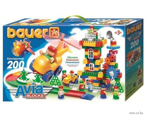 "Конструктор ""Avia Blocks"" (200 деталей; арт. 246)"