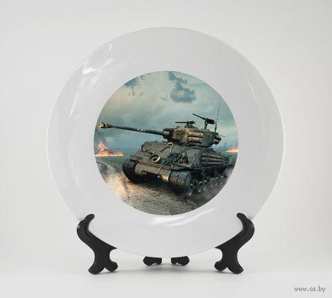 "Тарелка ""Танк"" (361)"