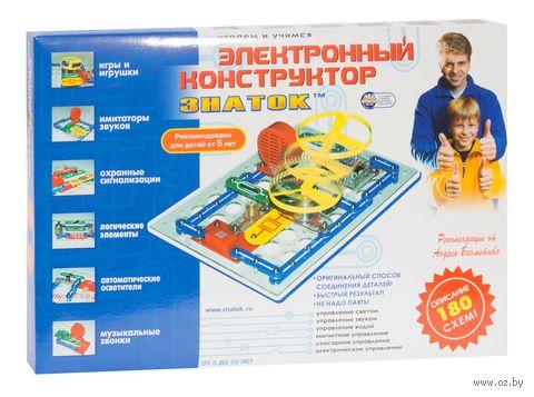 """Электронный конструктор """"Знаток. 180 схем"""" — фото, картинка"""