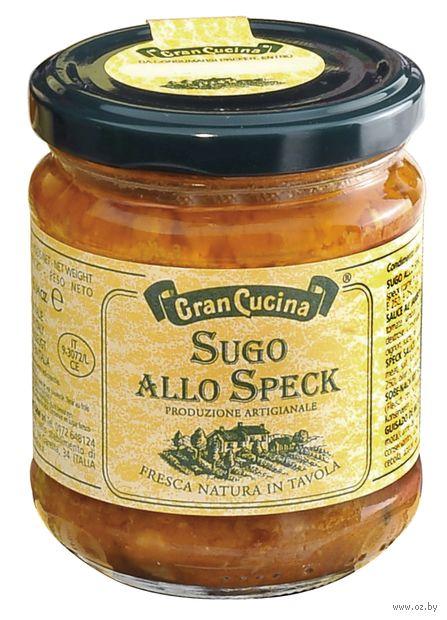 """Соус томатный """"Gran Cucina. Со шпиком"""" (180 г) — фото, картинка"""