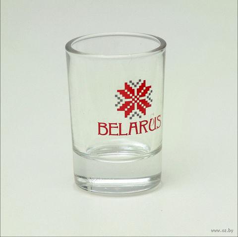 "Рюмка стеклянная ""BELARUS"""