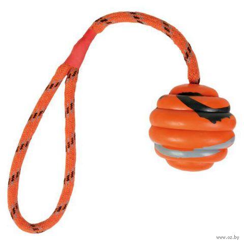 """Игрушка для собаки """"Мячик на веревке"""" (30 см; арт. 33724)"""