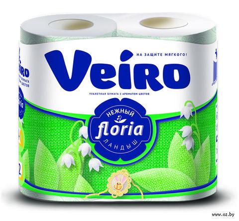 "Туалетная бумага ""Floria. Ландыш"" (4 рулона) — фото, картинка"