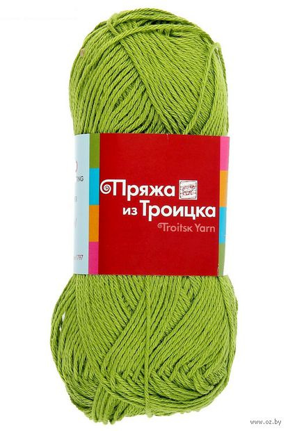 Пряжа из Троицка. Бамбуковая №3574 (50 г; 130 м) — фото, картинка