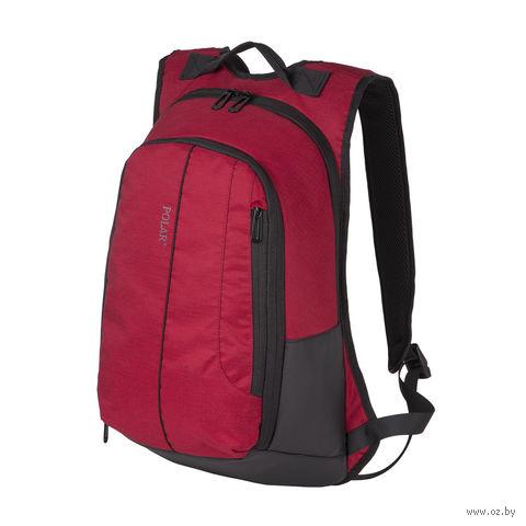 Рюкзак К9072 (20,7 л; бордовый) — фото, картинка