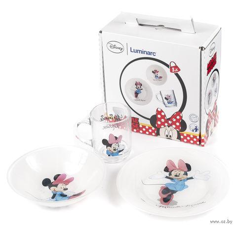 """Набор для завтрака """"Minnie"""" (3 предмета) — фото, картинка"""