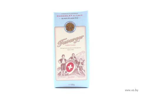 "Шоколад молочный ""Favarger. 38% какао"" (100 г) — фото, картинка"