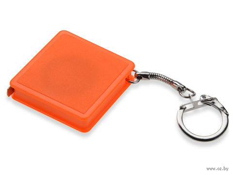 Брелок-рулетка (оранжевый, 1 метр)