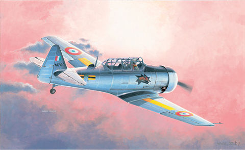 """Учебный самолет """"T-6 GTexan"""" (масштаб: 1/48) — фото, картинка"""