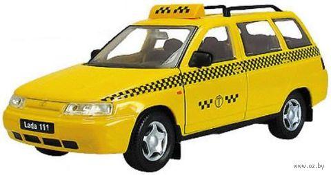 "Модель машины ""LADA 111 такси"" (масштаб: 1/36) — фото, картинка"