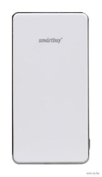 Внешний аккумулятор (Power bank) SmartBuy X-6000, белый (SBPB-6000)