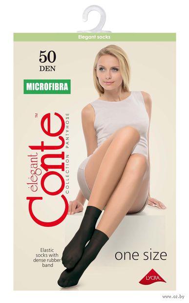 """Носки женские полиамидные """"Conte. Microfibra 50"""" (конверт)"""