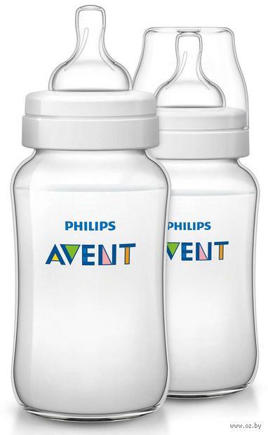 """Набор бутылочек для кормления """"Classic+"""" (330 мл; 2 шт) — фото, картинка"""