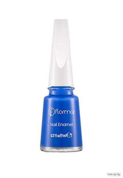 """Лак для ногтей """"Nail Enamel"""" (тон: 487, navy blue) — фото, картинка"""