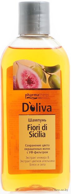 "Шампунь для волос ""Fiori di Sicilia"" (200 мл) — фото, картинка"