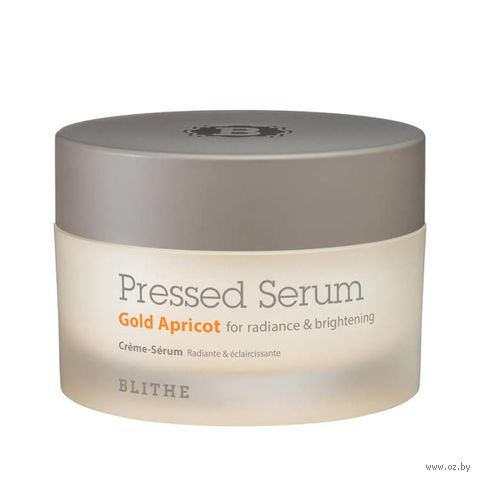 "Сыворотка-крем для лица ""Blithe Pressed Serum Gold Apricot"" (50 мл) — фото, картинка"