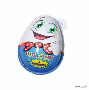 """Яйцо шоколадное """"Лаки Бой. Для мальчика"""" (40 г) — фото, картинка"""