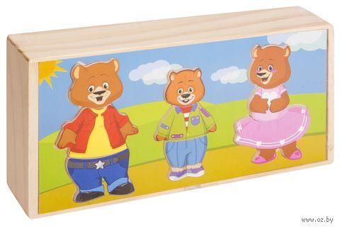 """Деревянная игрушка """"Три медведя"""" — фото, картинка"""