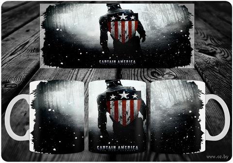 """Кружка """"Капитан Америка"""" (art. 17)"""