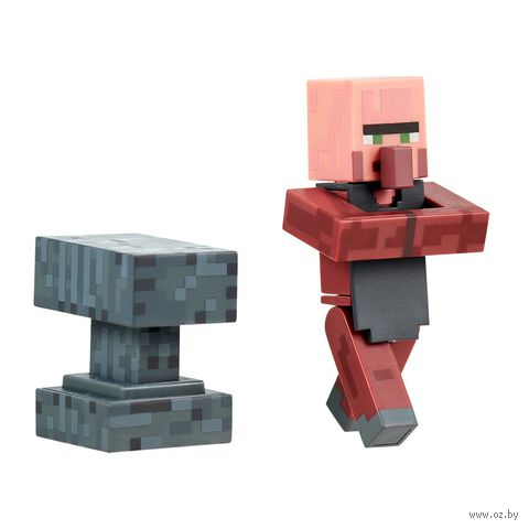 "Фигурка ""Minecraft. Blacksmith with Apron and Anvil"" (8 см)"