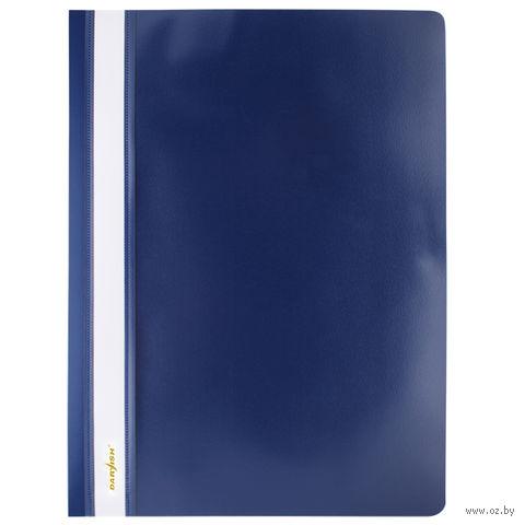 """Папка-скоросшиватель """"Darvish"""" (А4; синяя; арт. DV-200) — фото, картинка"""
