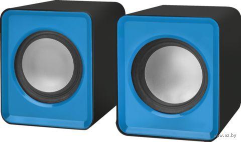 Акустическая система 2.0 Defender SPK 22 (синяя) — фото, картинка