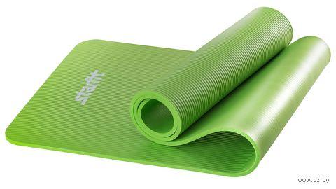 """Коврик для йоги """"FM-301"""" (183x58x1 см; зелёный) — фото, картинка"""