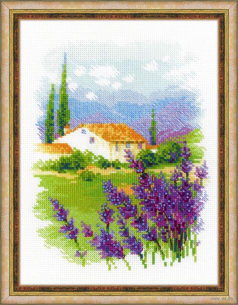 """Вышивка крестом """"Ферма в Провансе"""" (180x240 мм) — фото, картинка"""
