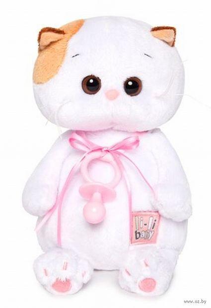 """Мягкая игрушка """"Кошечка Ли-Ли Baby с соской"""" (20 см) — фото, картинка"""