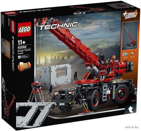 """LEGO Technic """"Подъёмный кран для пересечённой местности"""" — фото, картинка"""