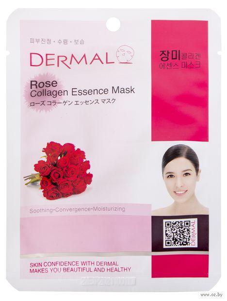 """Тканевая маска для лица """"Rose Collagen"""" (23 г) — фото, картинка"""
