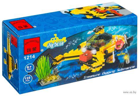 """Конструктор """"Pigboat. Глубоководный аппарат"""" (128 деталей) — фото, картинка"""