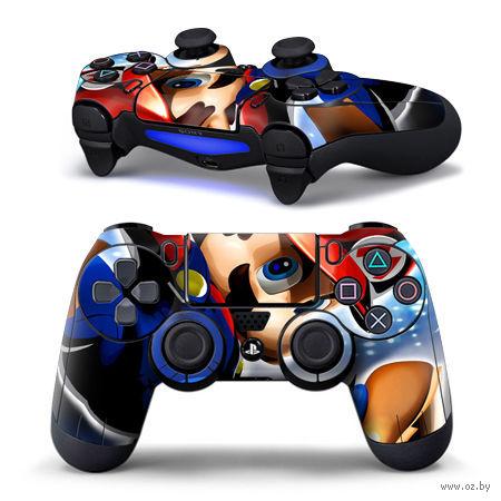 "Наклейка защитная для геймпада ""Super Mario"" (TN-PS4QB-0038) (PS4)"