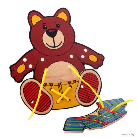 """Шнуровка """"Медвежонок"""" — фото, картинка"""