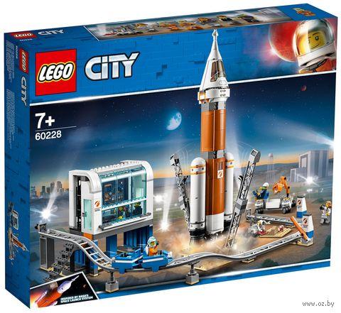 """LEGO City """"Ракета для запуска в далекий космос и пульт управления запуском"""" — фото, картинка"""