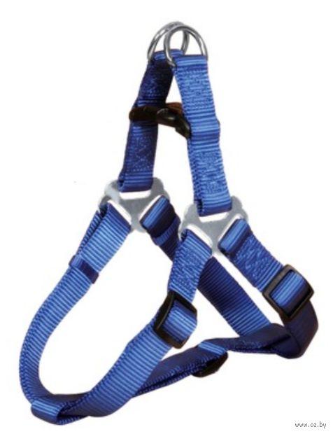 """Шлея для собак """"Premium Harness"""" (размер M; 50-65 см; синий)"""