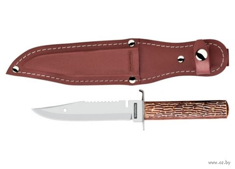 Нож металлический разделочный в чехле (12,7 см; арт. 26050105)
