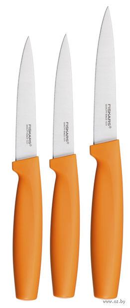 Набор ножей малых оранжевый Functional Form Fiskars (3 штуки)