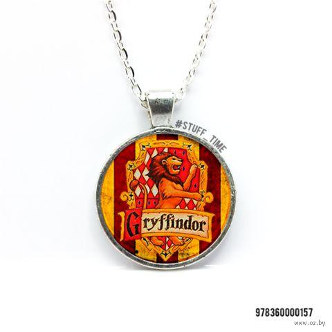 """Кулон """"Гарри Поттер. Гриффиндор"""" (арт. 157) — фото, картинка"""