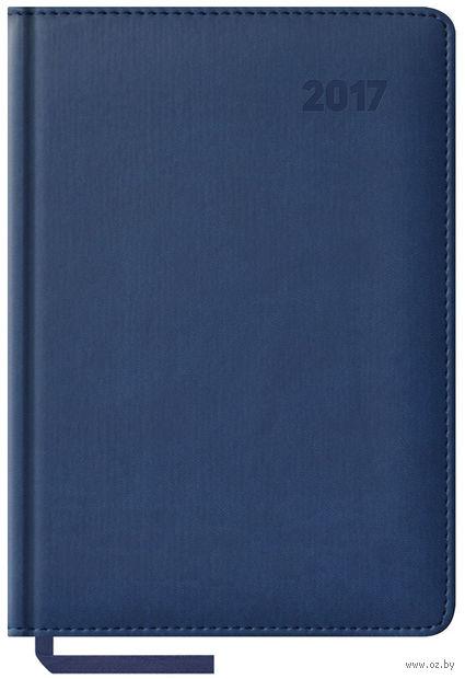 """Ежедневник датированный """"Vivella"""", 2017 (А5; 176 листов; синий)"""