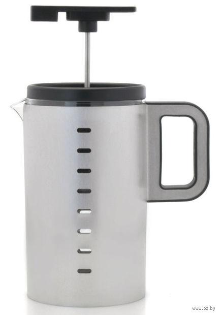 Кофейник с прессом, стекло/металл, 800 мл (арт. 3501695)