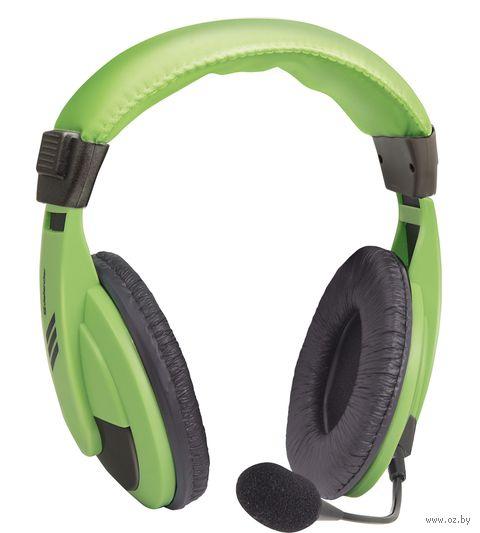 Гарнитура Defender Gryphon 750 (зеленая) — фото, картинка