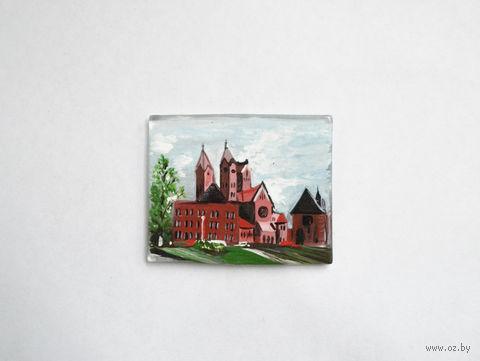 """Магнит на холодильник """"Костел"""" (арт. МС-3) — фото, картинка"""