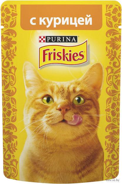 Пресервы для кошек (85 г; курица в подливе) — фото, картинка