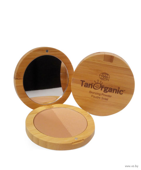 "Компактная пудра для лица ""Tan Organic"" (тон: цвет загара) — фото, картинка"