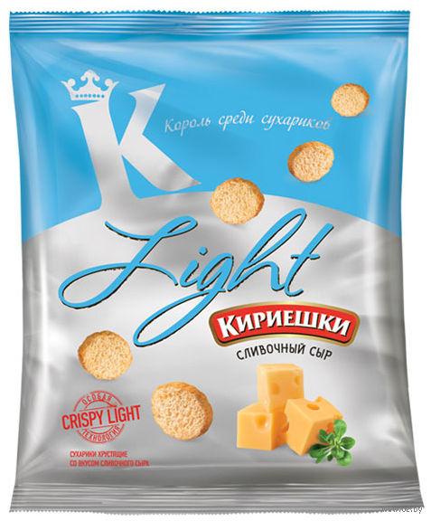 """Сухарики """"Light"""" (33 г; сливочный сыр) — фото, картинка"""