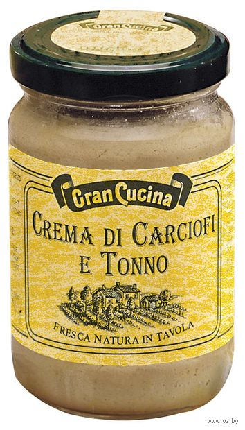 "Пате ""Gran Cucina. Из артишоков и тунца"" (130 г) — фото, картинка"