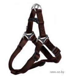 """Шлея для собак """"Premium Harness"""" (размер M, 50-65 см, коричневый, арт. 20456)"""