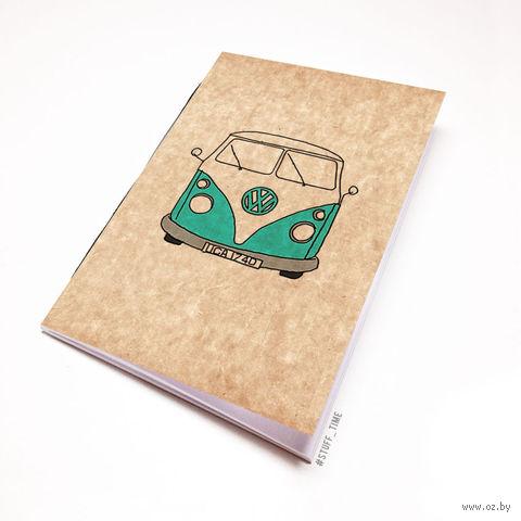 """Блокнот крафт """"Volkswagen"""" А6 (721)"""